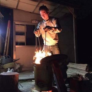 1000℃の炎を体感! 『焼く』ワークショップ開催。