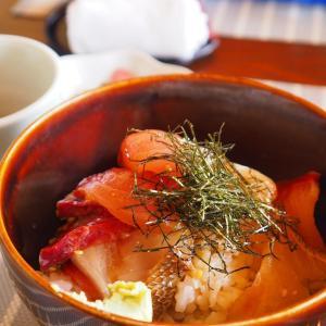 『小安丸』・西海町太田和郷で海鮮丼を