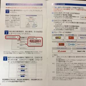 GMOインターネット★株主優待到着