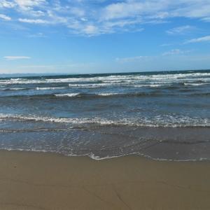 束の間の海と砂丘