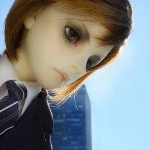 私のキャラドール4 秘密-トップ・シークレット-(薪ヘッドとF-16)SD身長考