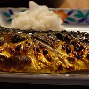 塩鯖も美味しい物です 丁寧に焼きましょう