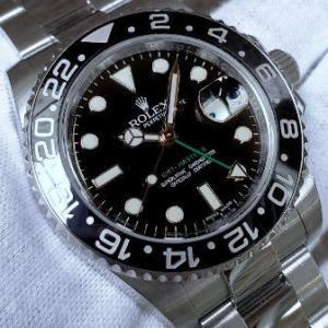 ロレックス GMTマスターⅡ REF.116710LN 2010年製 V番 箱/保証書つき 美品中古モデル お買い得です!