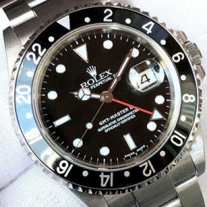 ロレックス GMTマスターⅡ REF.16710 2002年製 REF.K番 日本ロレックス正規品 箱/保証書付 黒ベゼルのお買い得モデルです