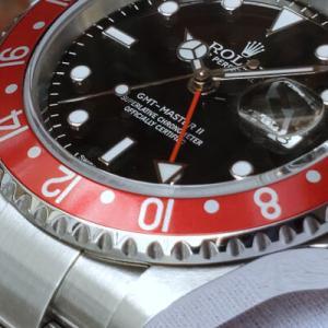 ロレックス GMTマスターⅡ Ref.16710 スティックダイアル 2007年 Z7番 箱/保証書/交換用ベゼル2枚つき ノンポリッシュ!美品!