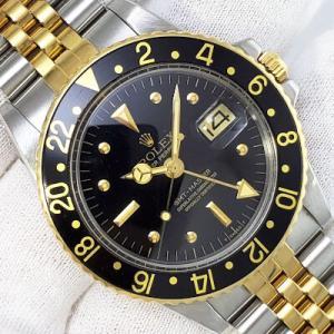 ロレックス GMTマスターⅠ フジツボ Ref.1675/3 1978年製 黒艶あり文字盤 ジュビリーブレス仕様