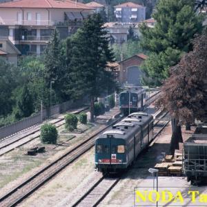 マチェラータを走るローカル線