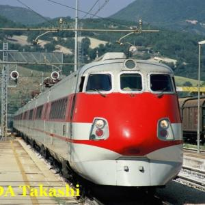 特急列車でローマへ