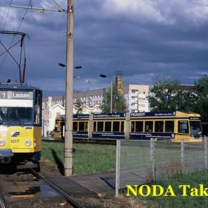 ライプツィヒ市内のトラム旅、その2