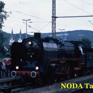 蒸気機関車ゼロイチ牽引のライン河花火見物列車(2)