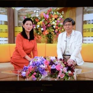 NHKテレビに出演します