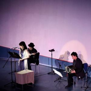 プラネタリウム「朗読&タンゴコンサート」