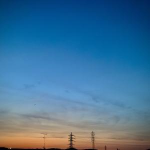 夕空を眺めて今日のお稽古は〜宮澤賢治作『双子の星』〜