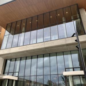 京都橘大学で講演しました「朗読の基礎を学ぶ」