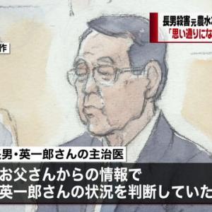 【悲報】 英一郎を仕留めた官僚の妻さん、泣きながら「刑を軽くしてやってください」