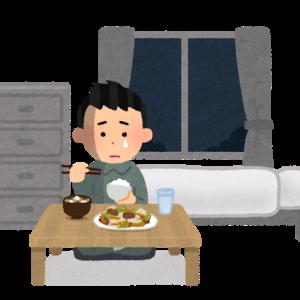【悲報】一人暮らしの飯、栄養やばかった