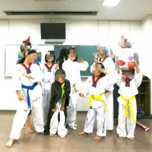 来週の名古屋国際テコンドースクール覚王山は合同練習