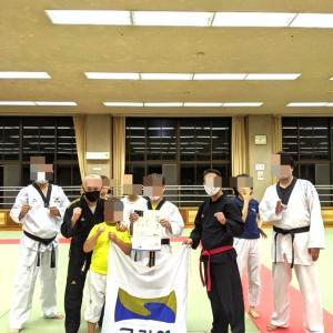 テコンドーUTC名古屋 秋の昇級審査会