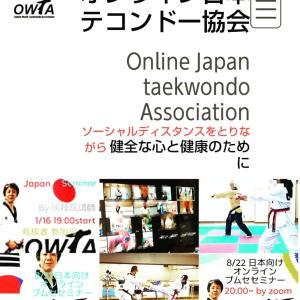 オンライン テコンドー レッスン 日本 どこでも