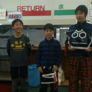 5・6年 男子  3位   三浦チサト選手。