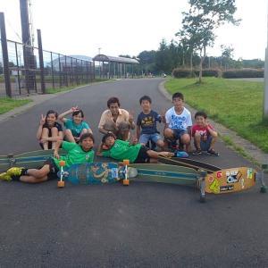 久々に夏油スノーボード少年団で活動しました。
