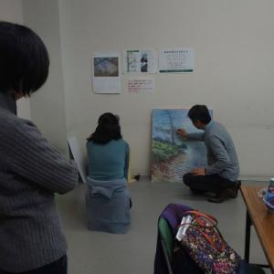 大板の水彩画教室