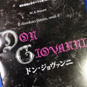学生オペラ(コロナバージョン)を観てきました