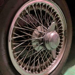 Wire wheel for ALVIS