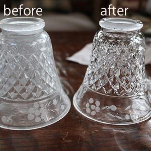 【ペンダントライト・吊り下げ照明】ガラス製は手入れが楽です