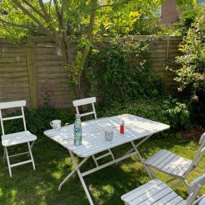 庭で寛ぎ場所とエクササイズ場所