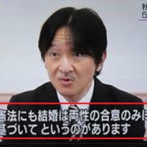 秋篠宮殿下への 違和感