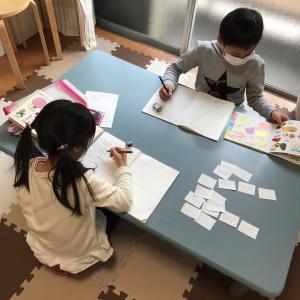 キッズ英語教室 英会話スクール : 聴く、書く、話すがしっかりできてる