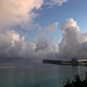 グアムの天気 10月13日 朝 ヘンリーのタモン日記