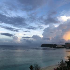 グアムの天気 11月18日 朝 ヘンリーのタモン日記