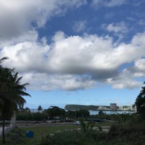 グアムの天気 12つき9日 午後ロイヤルオーキッドからジョー速