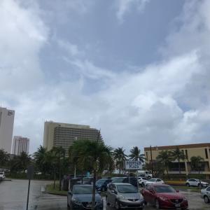 グアムの天気  1月27日 正午 ゼウスレンタカーからジョー速