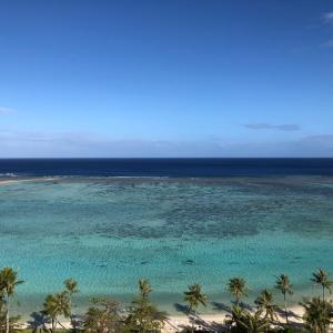 グアムの天気 2月17日 朝のタモンの様子 Sashi from Guam