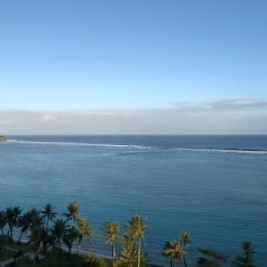グアムの天気 2月21日 朝のタモンより sashi from Guam