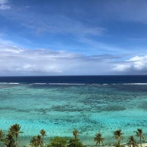 グアムの天気 3月28日 青いタモン sashi from Guam