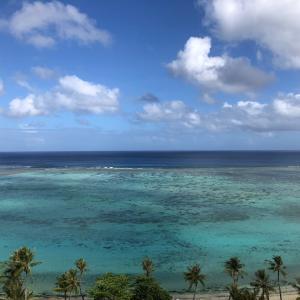 グアムの天気 3月29日 浄化作戦 sashi from Guam