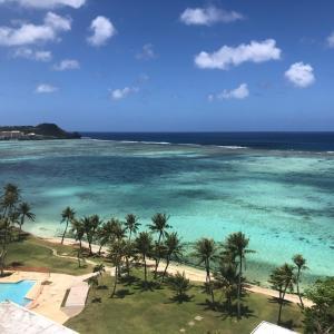 グアムの天気 3月30日 今朝のタモン sashi from Guam