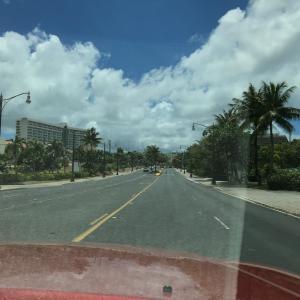 グアムの天気 4月3日 午後タモン周辺からのジョー速