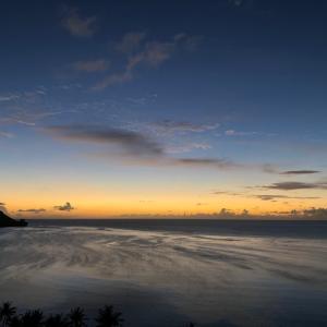 グアムの天気 6月3日 ユナイテッド便 sashi from Guam