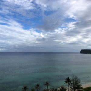 グアムの天気 6月5日 良い感じの雲り sashi from Guam