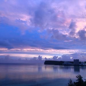 グアムの天気 6月6日 朝焼け sashi from Guam