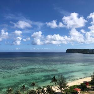 グアムの天気 6月12日 快晴 sashi from Guam