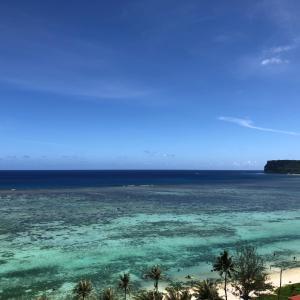 グアムの天気 6月14日 快晴 sashi from Guam