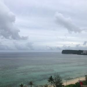 グアムの天気 6月16日 雨季 sashi from Guam