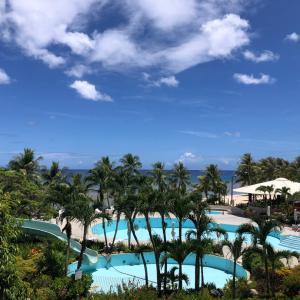 グアムの天気 6月17日 ニッコーホテルより sashi from Guam