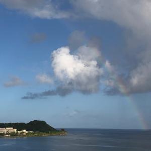 グアムの天気 6月19日 初めて見た sashi from Guam